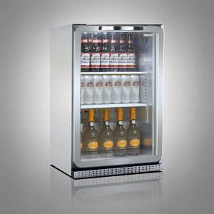 Husky PRO Below Zero Single Door Back Bar Cooler