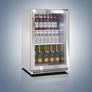 Back Bar Coolers - Stainless Steel