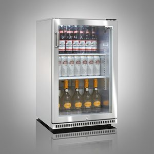 Husky Stainless Steel Single Door Back Bar Cooler