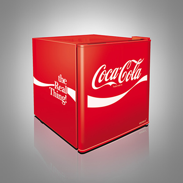 Coca-Cola Solid Door Mini Fridge