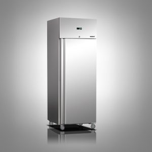 Husky Single Door Stainless Steel Refrigerator