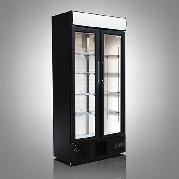 Husky Double Door Back Bar Upright Cooler