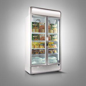 Husky Double Door F10PRO Upright Freezer