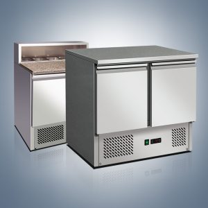Stainless Steel Pizza & Salad Counters