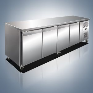 Stainless Steel Preparation Counter Chillers