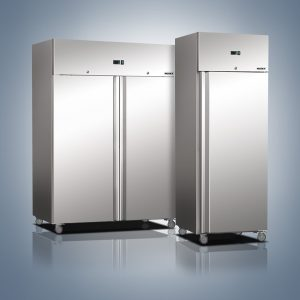 Stainless Steel Upright Refrigerators and Freezers