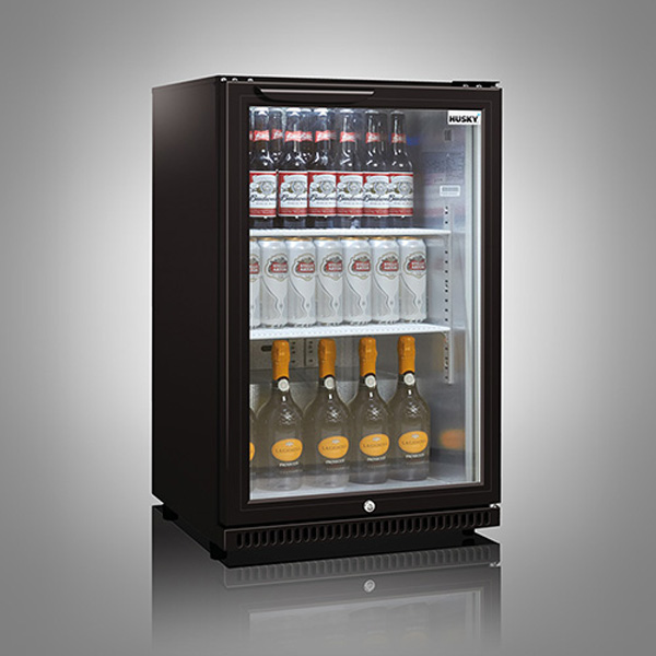 Husky Single Door Back Bar Below Zero Cooler