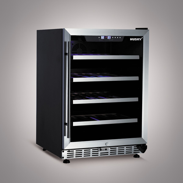 Husky 154 Litre Dual Zone Wine Cooler