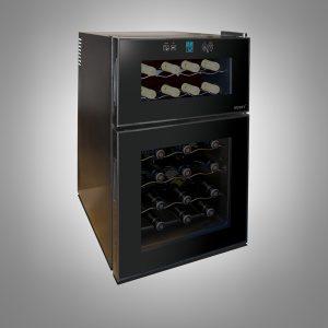 Husky 24 Bottles Dual Zone Undercounter Wine Cooler